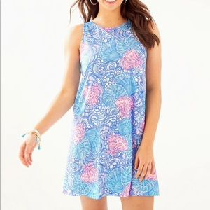 NWT Lilly Pulitzer Kristen Dress Blue Haven XS